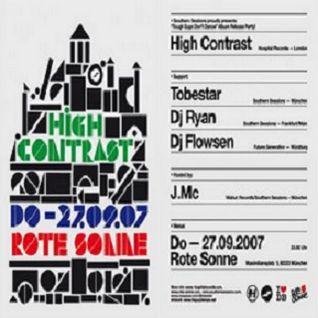 Flowsen feat. MC Motive & J.MC @ High Contrast - Rote Sonne München - 27.09.2007