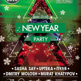 Dmitry Molosh - New Year Party (1.01.2016)