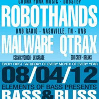 Doombox w/MC Precision LIVE @ Bass & Bliss 08.04.12
