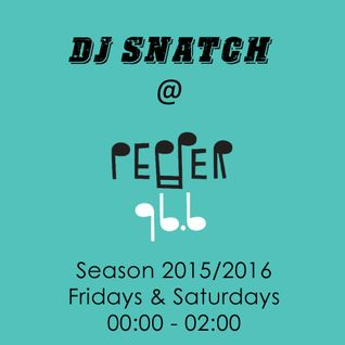 DJ SNATCH @PEPPER 96.6 (08.07.2016)