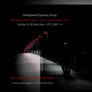 Unexplained Sounds Group - The Recognition Test # 36