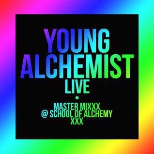 YOUNG ALCHEMIST (Live) | Master Mixxx @ School Of Alchemy - May 25th, 2015 [115/118BPM]