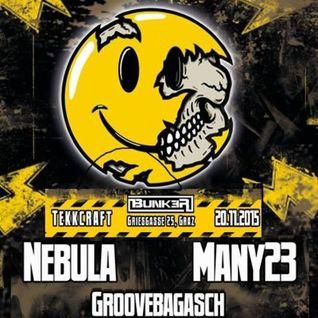 Many Mammut b2b Nebula @ Tekkcraft Bunker Graz -- 20/11/2015