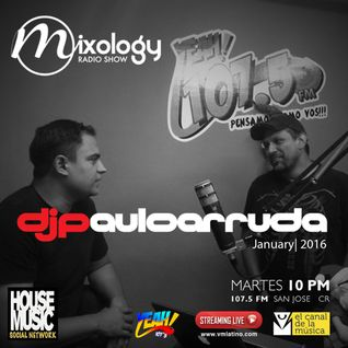 Paulo Arruda at Mixology Radio Show • FM 107.5 YEAH! (Costa Rica) January | 2016