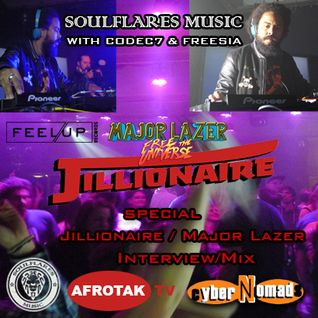 Jillionare (Major Lazor / Feel Up Records) Radio Interview & Mix