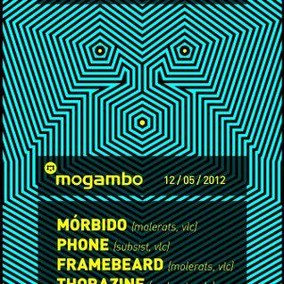 Thorazine @ Mogambo - Blue Noise 3 - 12/05/2012