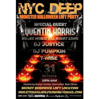 DJ T-Wise (Ubiquity Soul)  @ NYC Deep Halloween Party 10-31-15