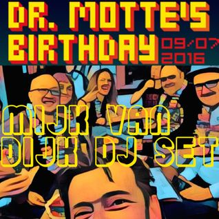 Mijk van Dijk DJ-Set at Dr. Motte's Birthday Celebration, Suicide Circus, 2016-07-09