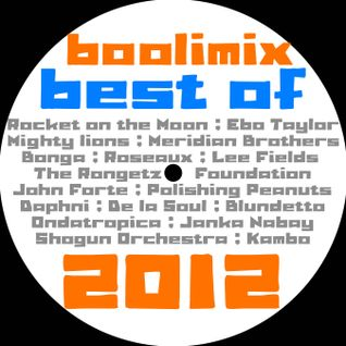 Boolimix Radio Show - 26 décembre 2012 - My Best of 2012