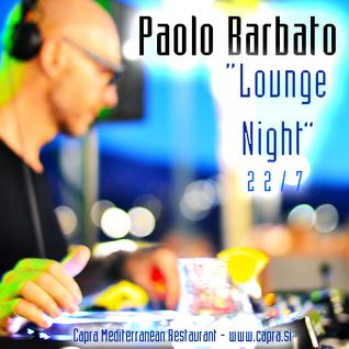 Paolo Barbato - Capra Lounge Night 22/07/15