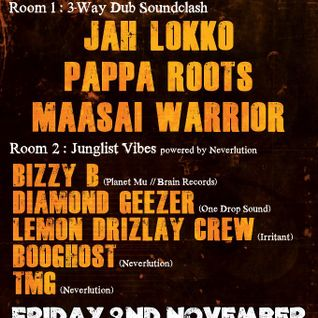 Diamond Geezer @ Bristol Dub Club - November 2012