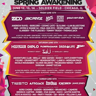 Audien - Live @ Spring Awakening Music Festival 2015 (Chicago, USA) - 14.06.2015