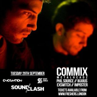 Soundclash/Evolution Promo Mix - 29/09/2015