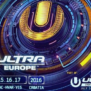 Afrojack - Live @ Ultra Europe 2016 (Split, Croatia) - 17.07.2016
