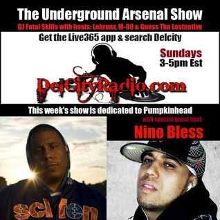 The Underground Arsenal Show Special Pumpkinhead Dedication with Special Guest Nino Bless