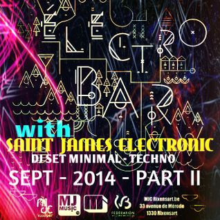 Saint James Electronic @ Electro Bar - MJC Rixensart - Septembre 2014 - PART II