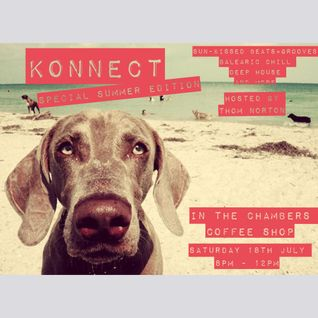 Konnect 'Special Summer Edition' - Live in The Chambers Coffee Shop 18/7/15