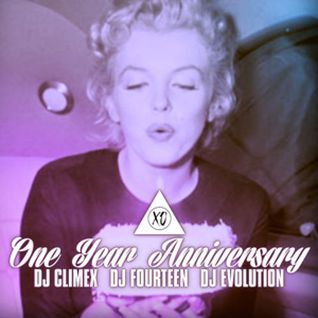 ONE YE▲R XO featuring DJ Climex, DJ Fourteen & DJ Evolution