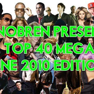 DJ Nobren's Top 40 Meagmix (June 2010 Edition)
