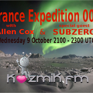 Trance Expedition 003 with Subzero Guest Mix
