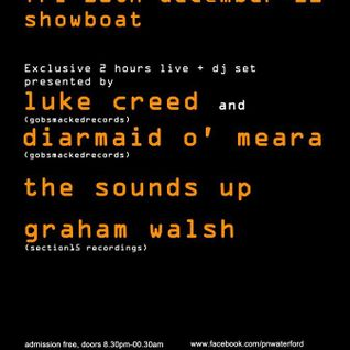 GRAHAM WALSH Live @ Showboat (Waterford, Ireland) 30-12-2011