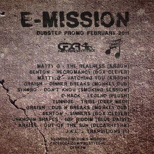 E-Mission Deep Vibe Dubstep Promo February 2011