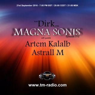 Dirk - Host Mix - MAGNA SONIS 010 (21st September 2016) on TM-Radio