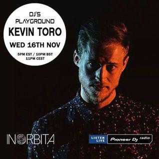Kevin Toro - Pioneer DJ's Playground (Pioneer DJ Radio) - November 2016