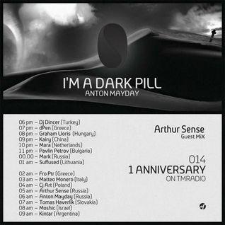 Arthur Sense - I'm a Dark Pill 1st Anniversary [January 2015] on tm-radio.com