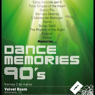 Dance Memories 90 @ Velvet Room (02.03.2012) Parte 2