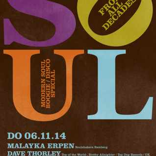 Soul from all Decades 6.11.14 - warm up