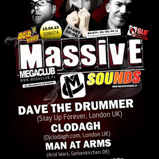 Lukash Andego - live @ Massive Sounds with Dave The Drummer @ MegaClub, Katowice 13.04.2013