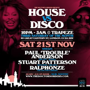 House vs Disco Mix by Stuart Patterson