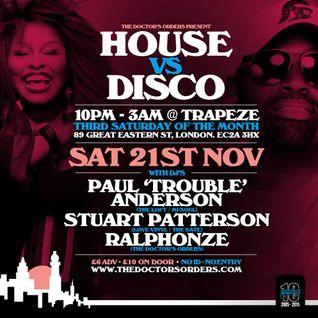 House vs Disco Mix by Stuart Patterson