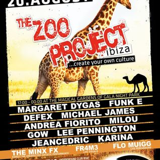 Margaret Dygas@Zoo Project [IbizaDance2011]