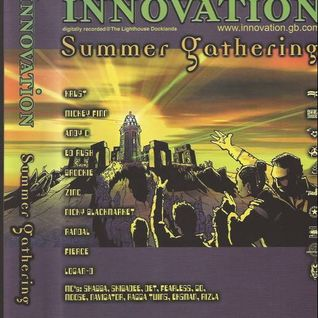 Andy C with Moose, Det, Skibadee, Shabba & Navigator at Innovation The Summer Gathering (2002)