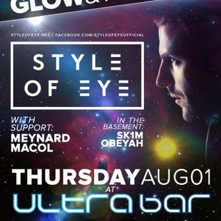 Style of Eye - Live @ Ultrabar (Washington DC) - 01.08.2013