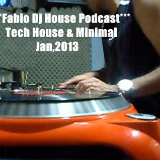 Tech House & Minimal Podcast by Fabio Dj House
