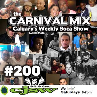 Carnival Mix #200 - Soca Favs from 2011-2015