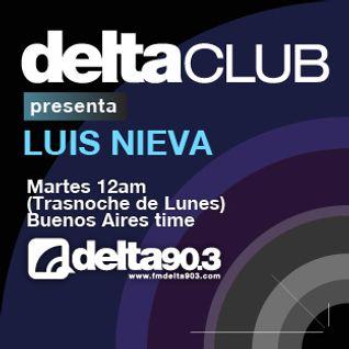 Delta Club presenta Luis Nieva (24/01/2012)