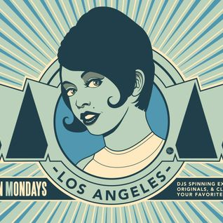DJ Deivid live Motown On Mondays Los Angeles, june 27 2016