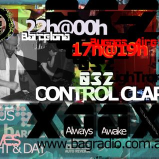 #XAAX032 #CONTROL CLAP #ATMOSPHERE @ BAG Radio Station [XRX2016210906PM]
