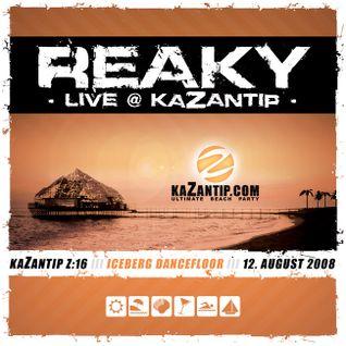 Reaky - Live @ KaZantip Z:16 - Iceberg Dancefloor - 12.08.2008