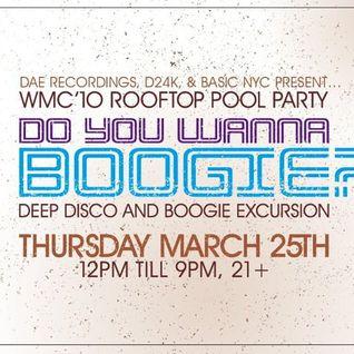 J Boogie @ DYWB? 2010