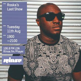 Roska Final Rinse FM Show 11/08/2015