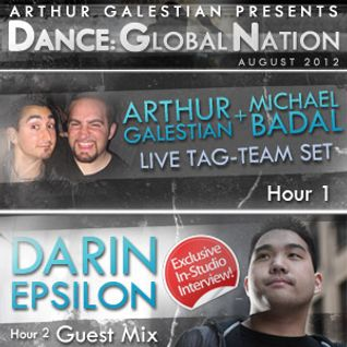 Dance: Global Nation 002 – Hour 2: Darin Epsilon Guest Mix (Aug 2012)