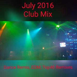 JULY 2016 CLUB MIX