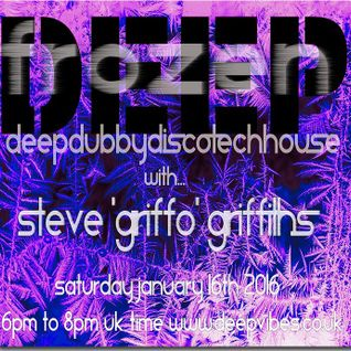 STEVE GRIFFO AKA FLOW MECHANIK - DEEP FROZEN - JAN 16 2016 - DEEPVIBES.CO.UK