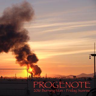 2016 Burning Man - Tectonic Stage - Friday Sunrise
