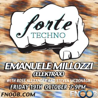 Forte Techno Show 19th October - Ross Alexander
